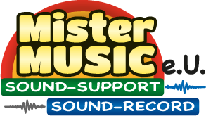 Mister Music e.U. - Sound-Support - Sound-Record